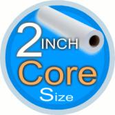 2 inch core size inkjet roll