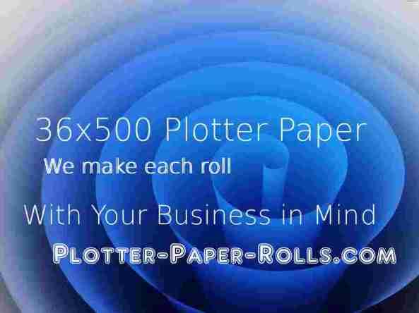 plotter paper 36x500