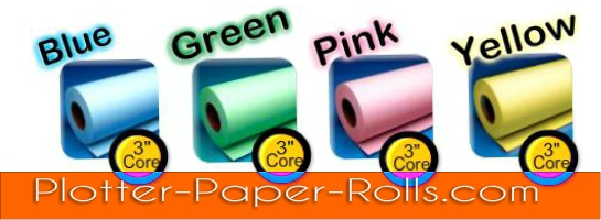 Colored Bond Roll Paper