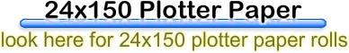 plotter paper24x150